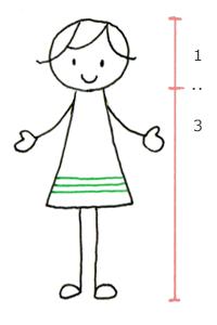 5 プチかわシンプル人物イラスト ボールペンで描くプチかわいい