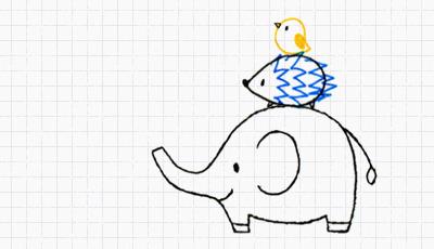 7. かんたんに描けるかわいい動物