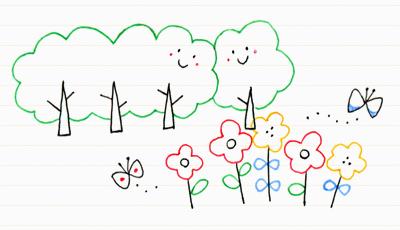 8. 植物をモチーフに描いてみよう