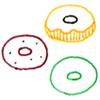 色々なドーナツ