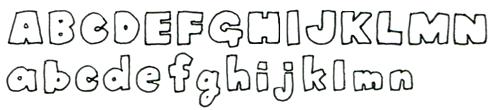 12. かき文字をかわいくデザイン - ボールペンで描く!プチ ...