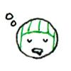 ぐー…(眠)